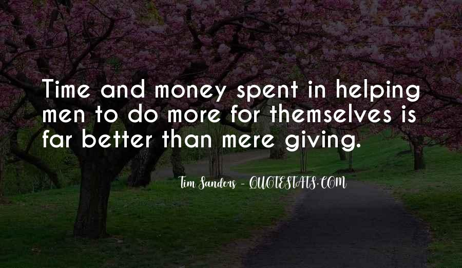 Quotes About More Money #92425