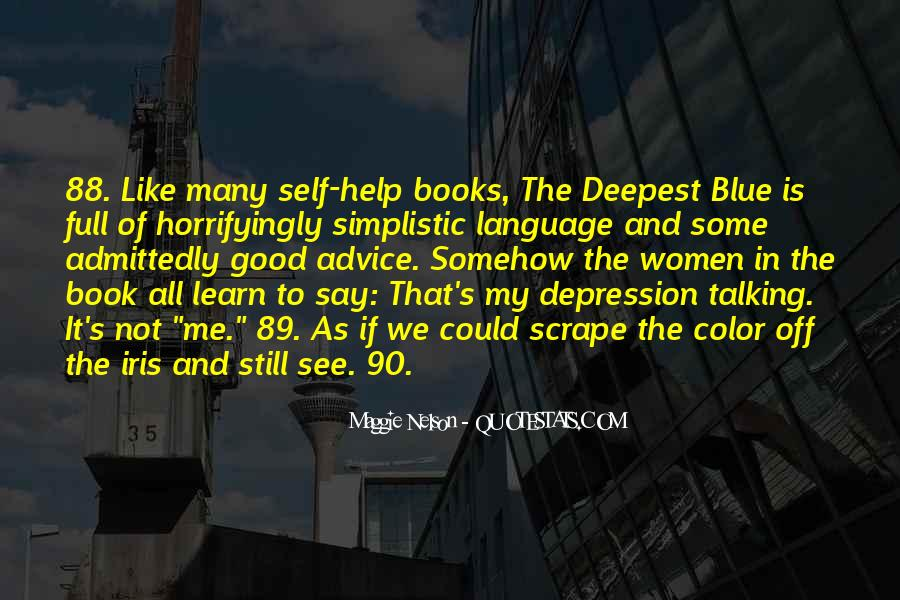 Quotes About Depression From Books #1038145