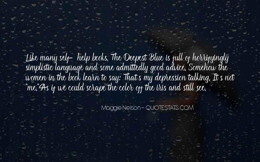 Quotes About Depression From Books #15932