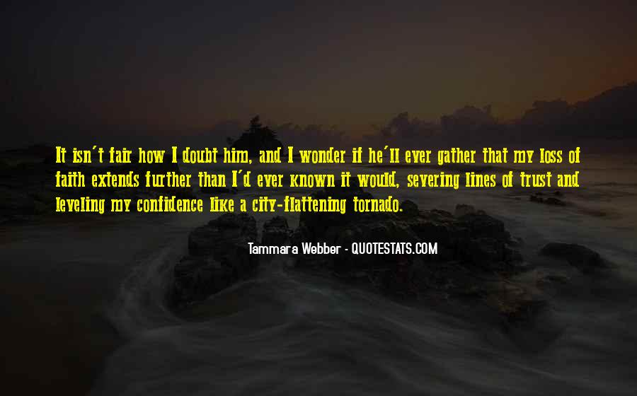 Quotes About Doubt And Trust #1761229