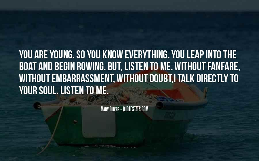 Quotes About Doubt And Trust #188322