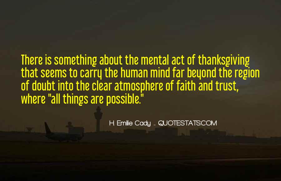 Quotes About Doubt And Trust #338675