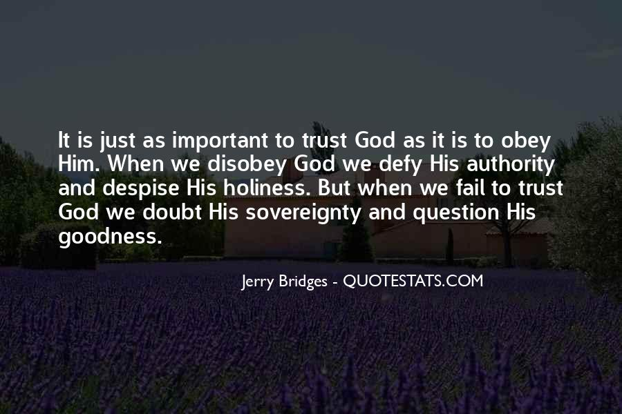 Quotes About Doubt And Trust #520354