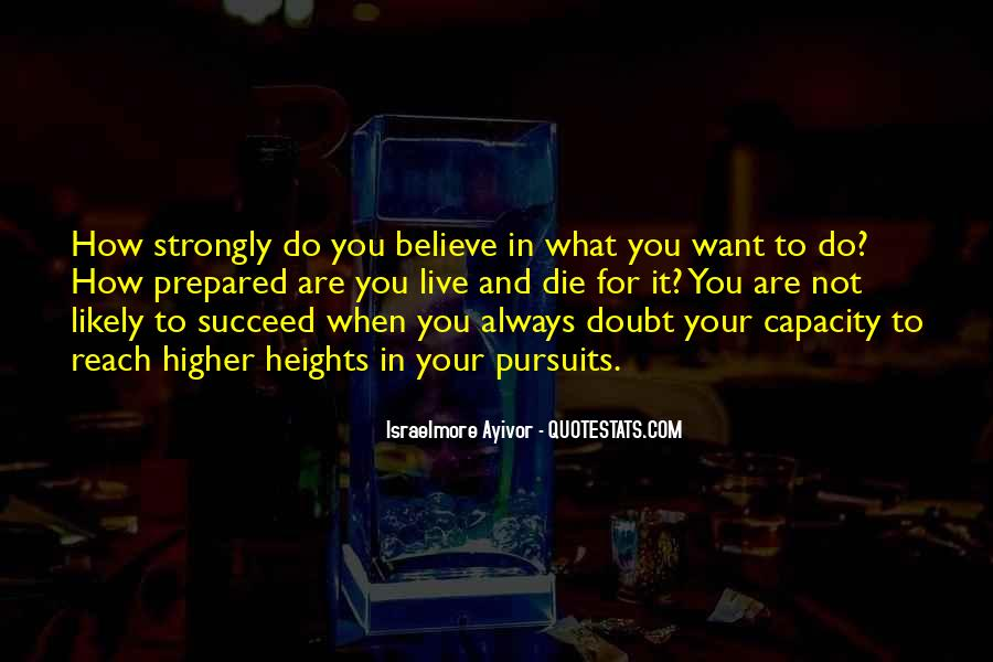 Quotes About Doubt And Trust #666609