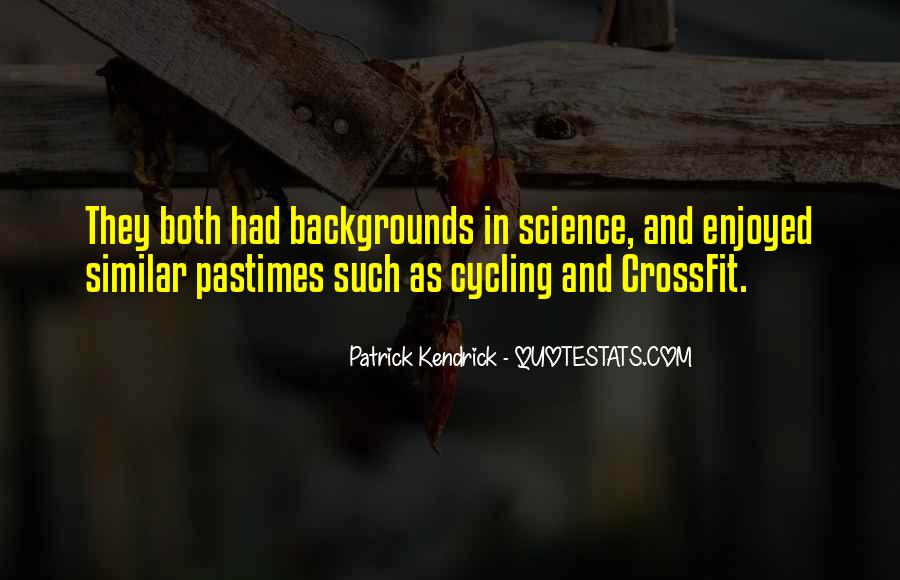 Quotes About Pastimes #760212