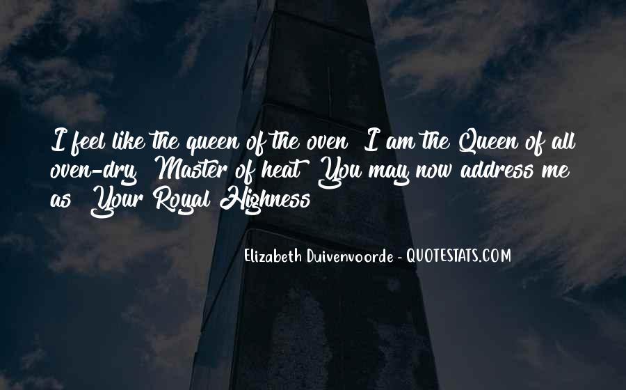 Quotes About Queen Elizabeth 1 #159277
