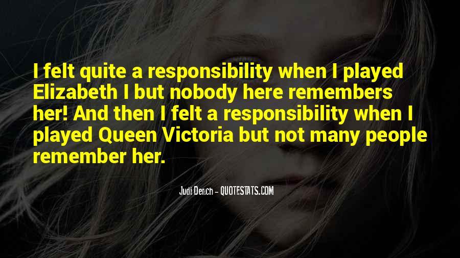 Quotes About Queen Elizabeth 1 #173944
