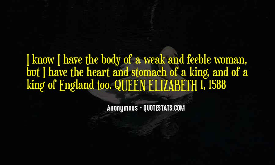 Quotes About Queen Elizabeth 1 #238130