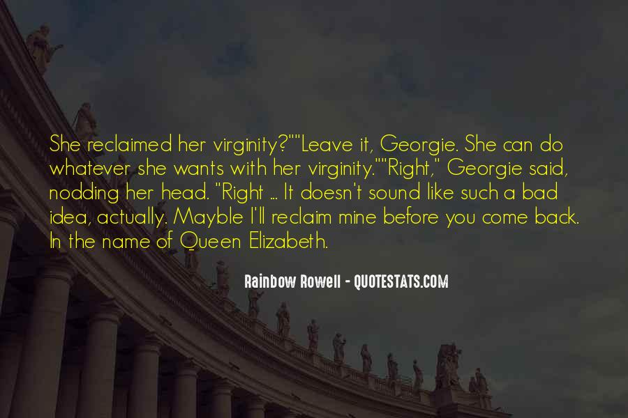 Quotes About Queen Elizabeth 1 #321996