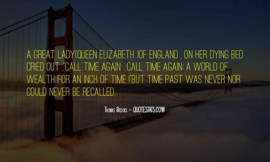 Quotes About Queen Elizabeth 1 #380702