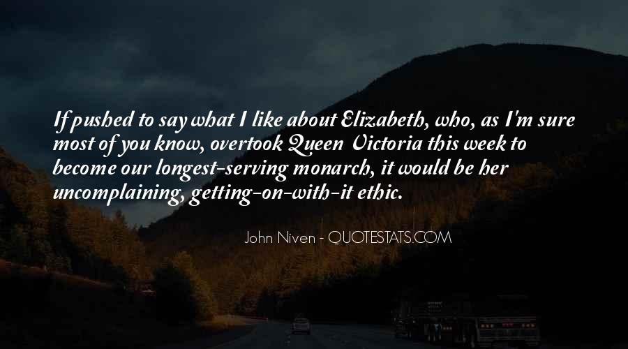 Quotes About Queen Elizabeth 1 #388141