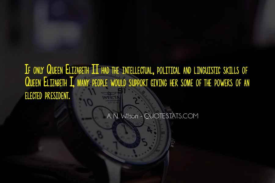 Quotes About Queen Elizabeth 1 #435232