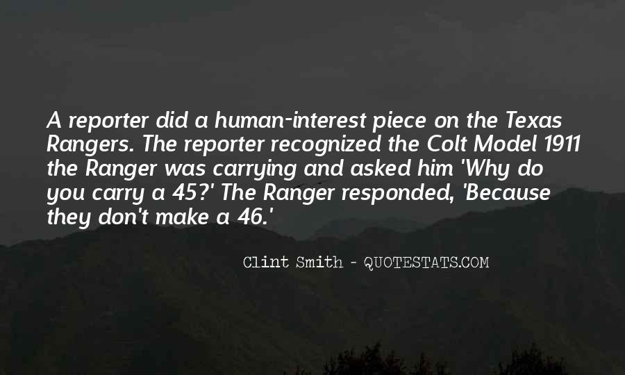 Quotes About Colt 45 #1240293