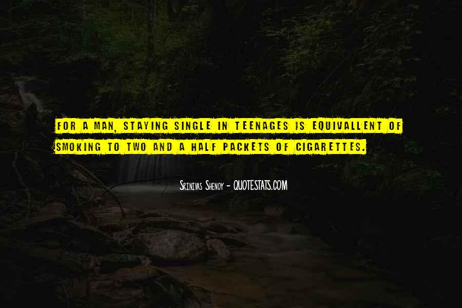 Quotes About Smoking Being Bad #111485