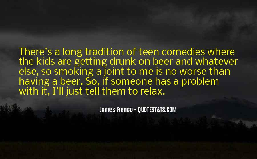 Quotes About Smoking Being Bad #121437