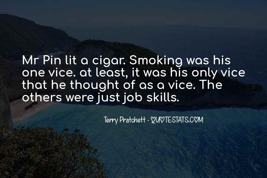 Quotes About Smoking Being Bad #123490