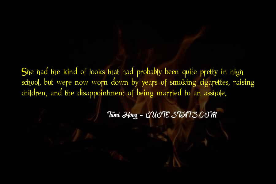 Quotes About Smoking Being Bad #128675
