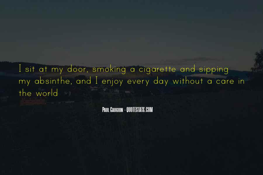 Quotes About Smoking Being Bad #133951
