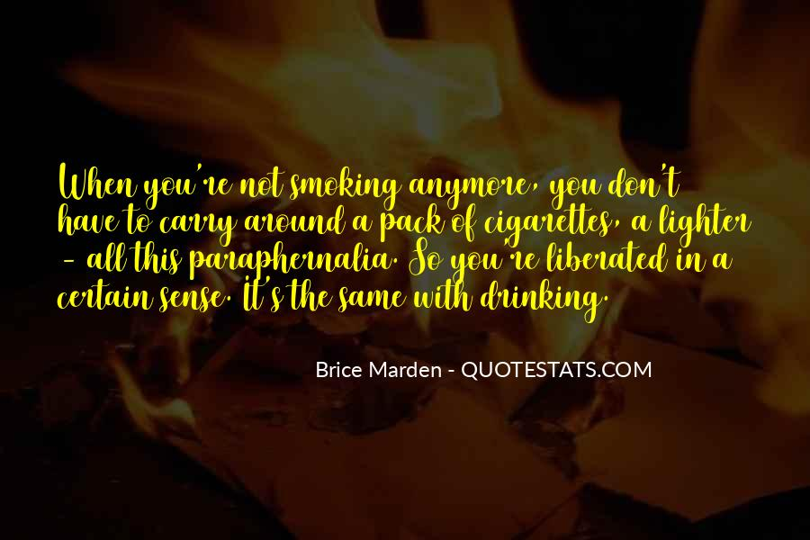 Quotes About Smoking Being Bad #137723