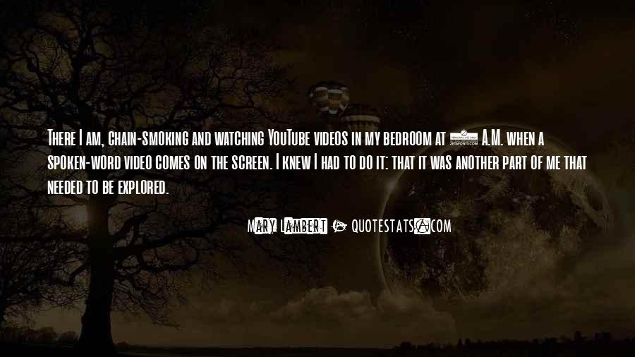 Quotes About Smoking Being Bad #146576