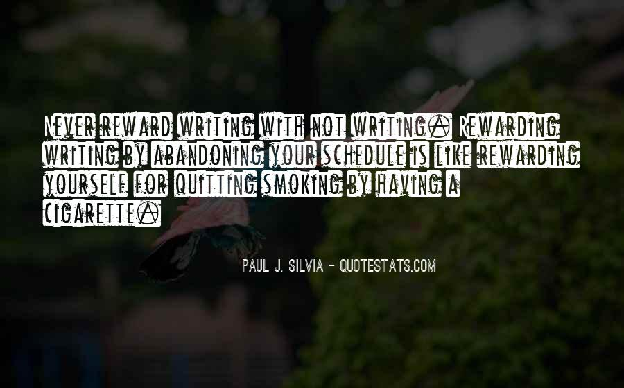 Quotes About Smoking Being Bad #148904