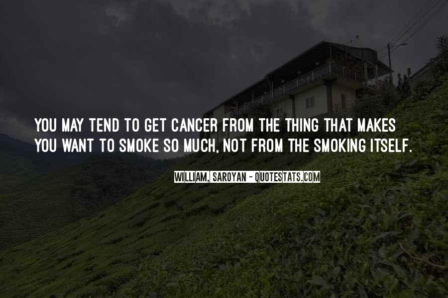 Quotes About Smoking Being Bad #151012
