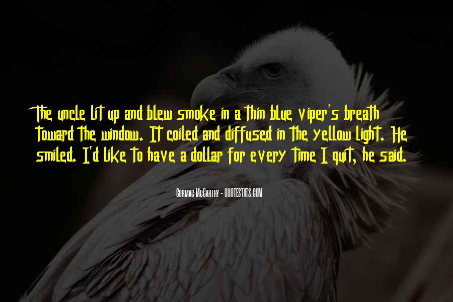 Quotes About Smoking Being Bad #162033