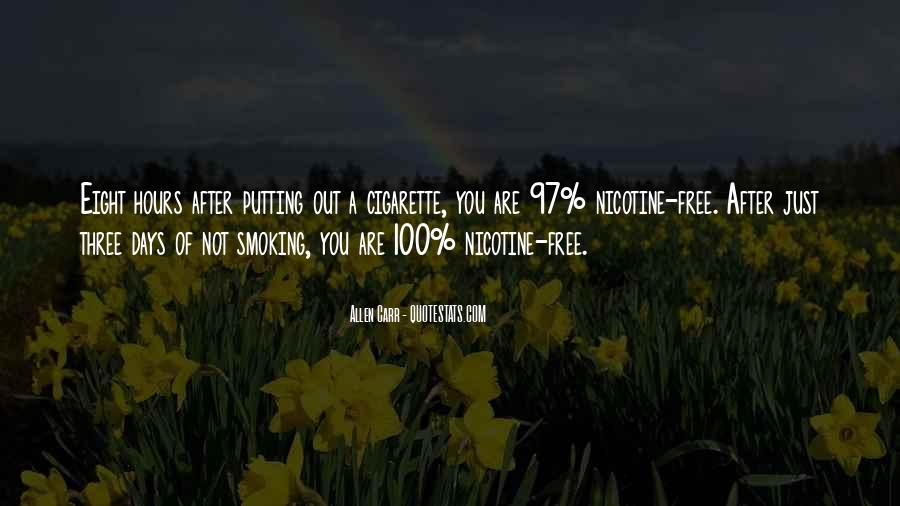 Quotes About Smoking Being Bad #166896