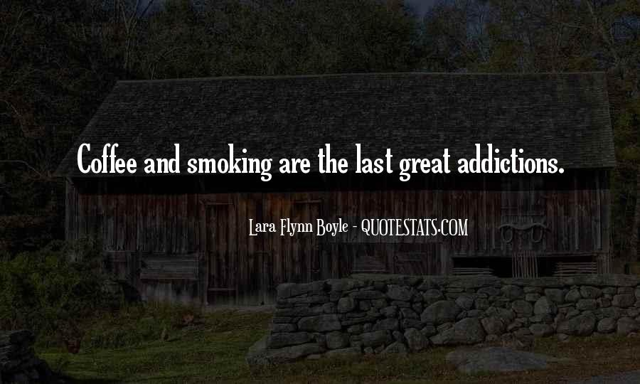 Quotes About Smoking Being Bad #25972