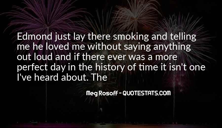 Quotes About Smoking Being Bad #63152
