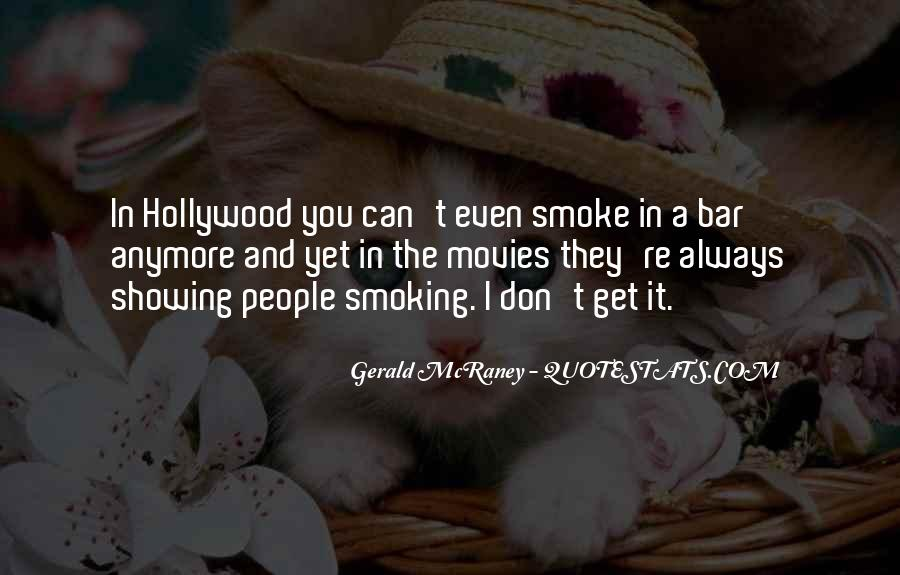 Quotes About Smoking Being Bad #68316
