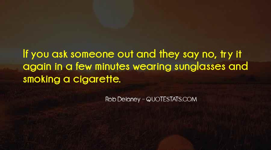 Quotes About Smoking Being Bad #78267