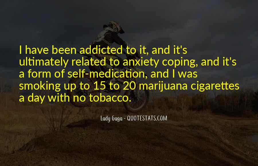 Quotes About Smoking Being Bad #98161