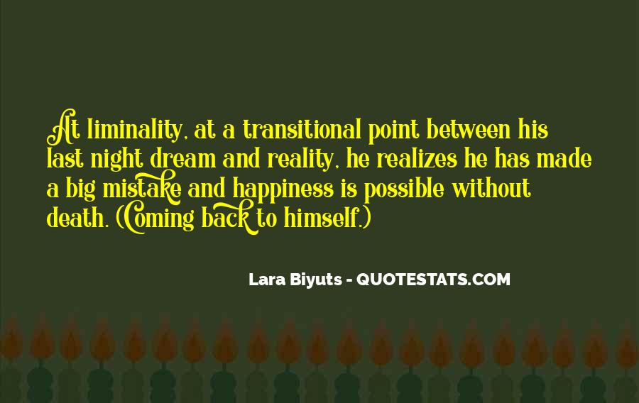 Quotes About Liminality #1166021