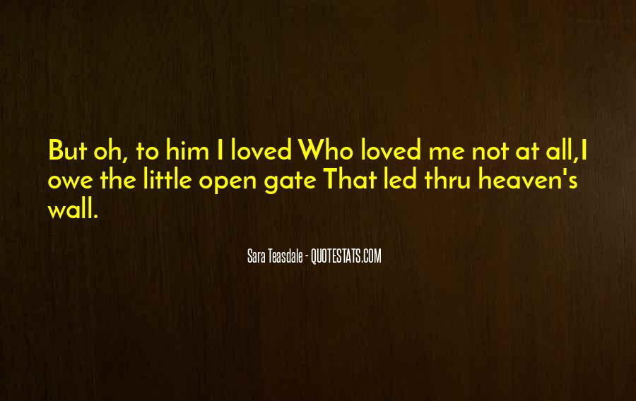 Quotes About Your Loved Ones In Heaven #154284