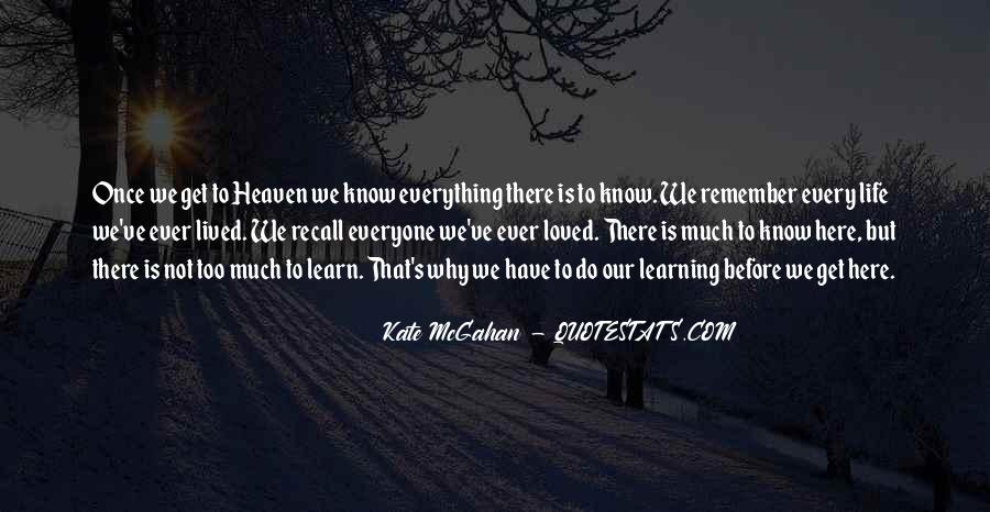 Quotes About Your Loved Ones In Heaven #230209