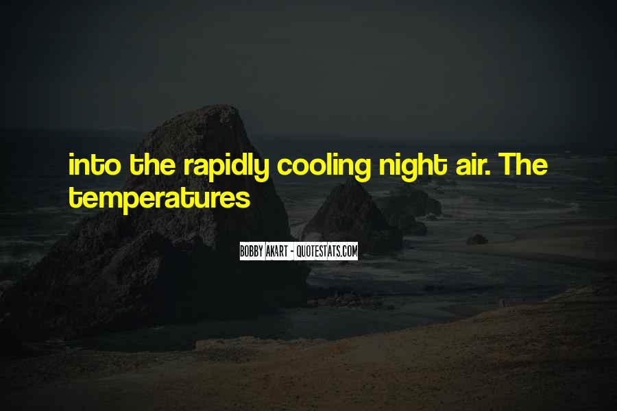 Quotes About Temperatures #1135607