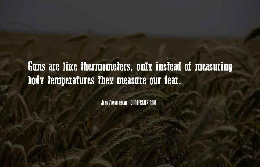 Quotes About Temperatures #1193046