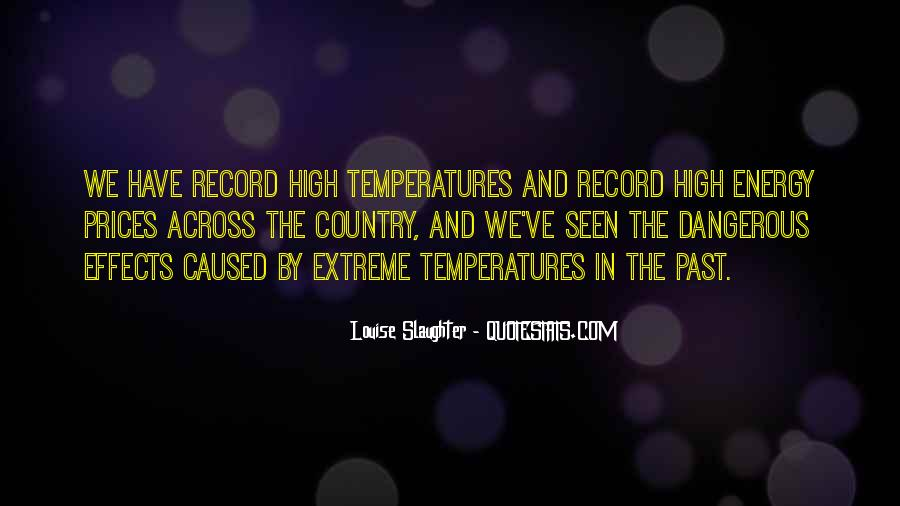 Quotes About Temperatures #1322523
