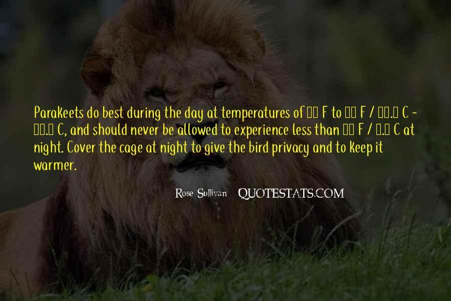 Quotes About Temperatures #1339385