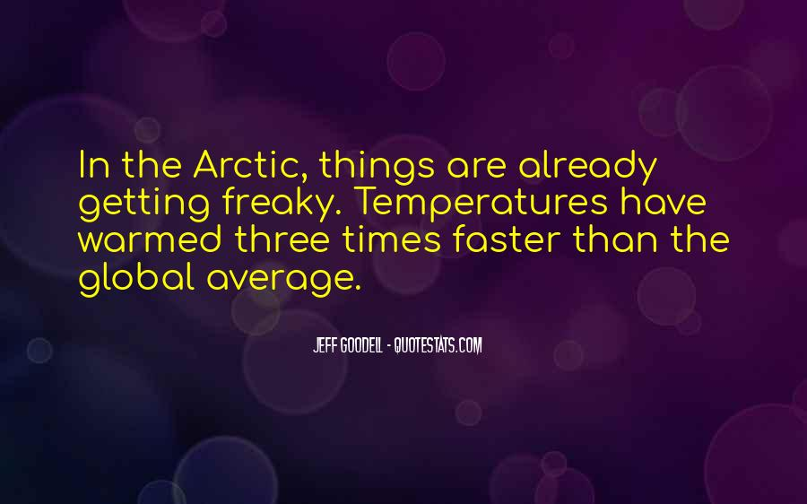 Quotes About Temperatures #1534731