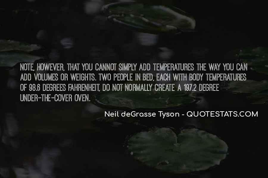 Quotes About Temperatures #70306