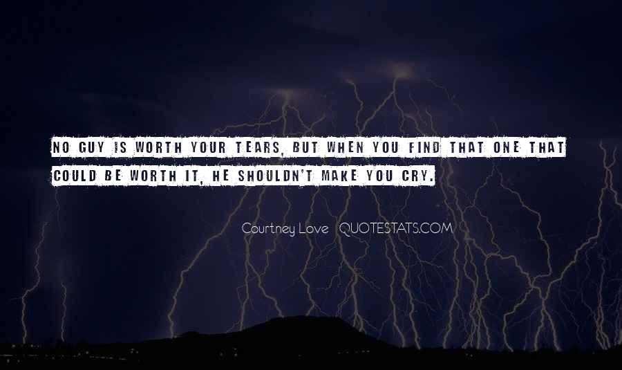 Quotes About Love That Can Make You Cry #1174782
