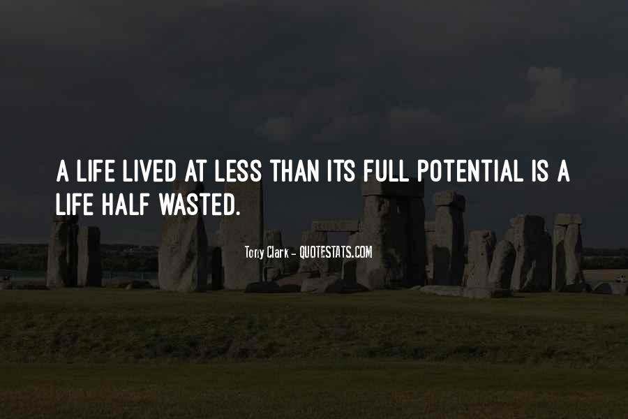 Quotes About Half Full #449688