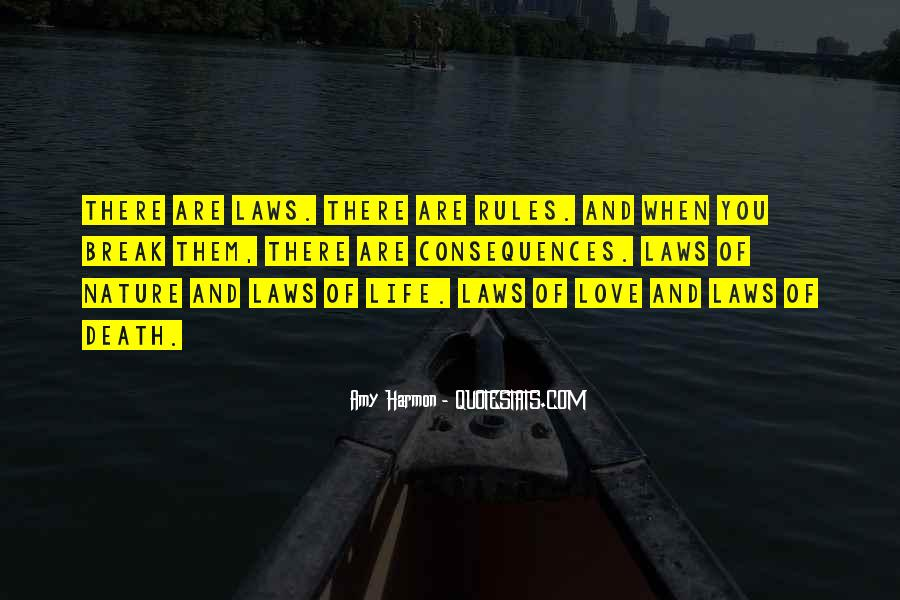 Quotes About Rules And Laws #1628992