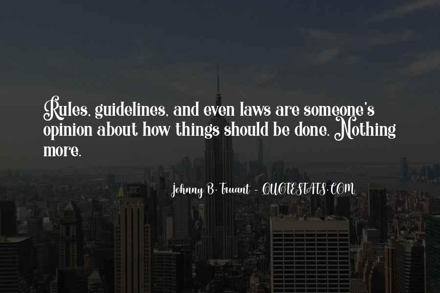 Quotes About Rules And Laws #1744885