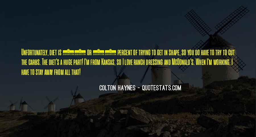 Quotes About Stay Away From Love #191559