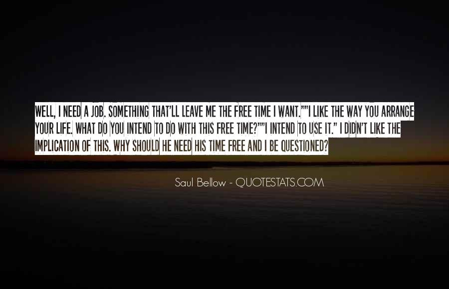 Quotes About Need And Want #45235