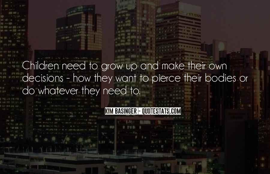 Quotes About Need And Want #98609