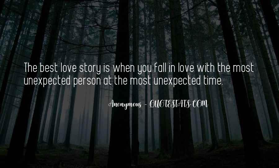 Quotes About Love Unexpected #124830